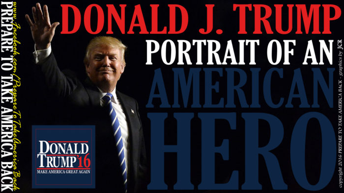 [BOMBSHELL] VIDEO:  Change We Can Believe In (Donald J. Trump, Portrait Of An American Hero)