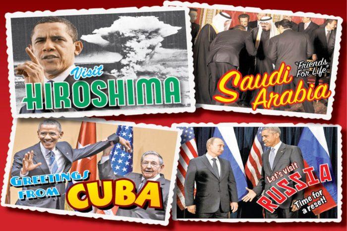 Obama's Shameful Apology Tour Lands In Hiroshima (Video)