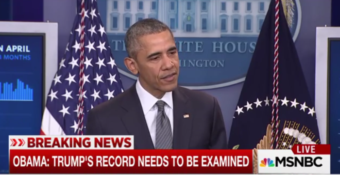 President Obama: Donald Trump's Record 'Needs to be Examined' 'This Is Not a Reality Show' (Video)