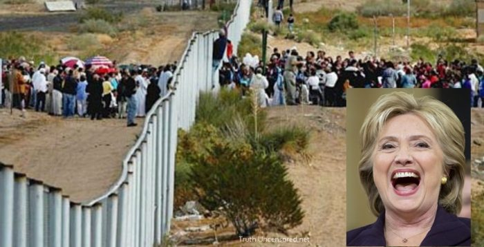 Hillary Clinton Releases SHOCKING 'Open' U.S. Border Plan