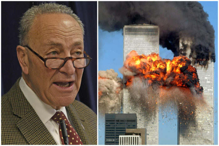 Senator Chuck Schumer Plays Cruel Hoax On 9/11 Victims Seeking Justice
