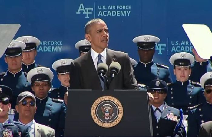 Barack Obama: 'Gays And Muslims Make Our Military Stronger' (Video)