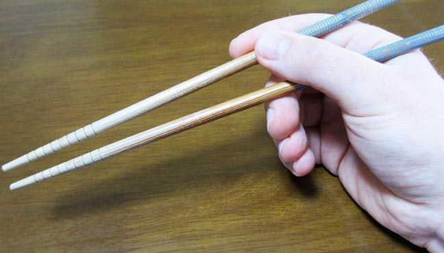 Japan Man Arrested For Killing Father With Chopstick