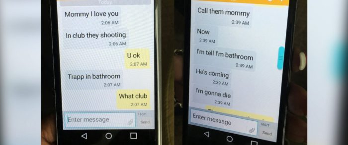 'He's Coming, I'm Going To Die' – Son Sends Heartbreaking Texts To His Mom During Orlando Shooting