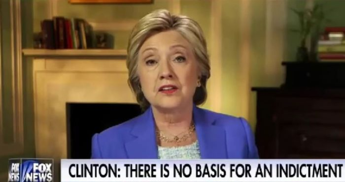 Clinton: 'Zero Chance' Emails Will Be A Problem For Me This Election (Video)