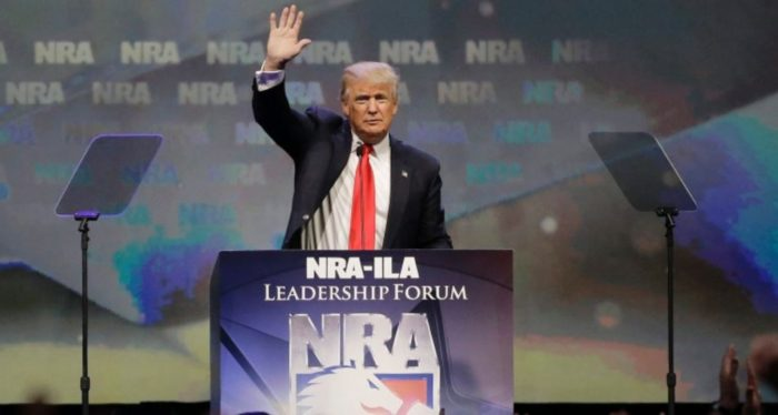 Donald Trump Meeting With NRA On Gun Ban For Terrorism Watch List
