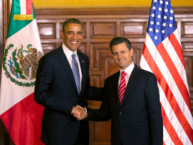 Obama To Give Mexican President A Megaphone Against Trump