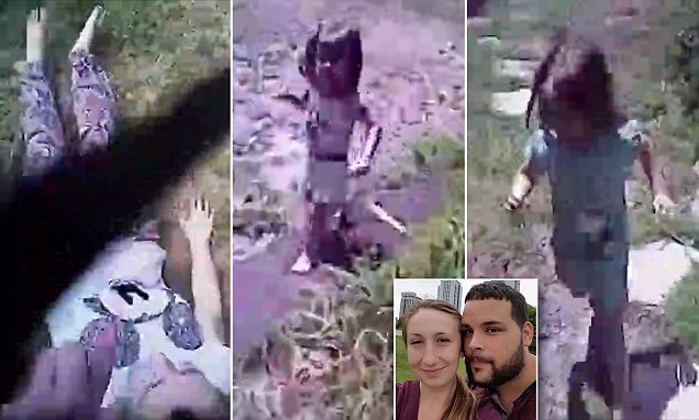 Body Cam Captures Hero Cop Saving Mother, Kids Amid Gunfire (VIDEO)