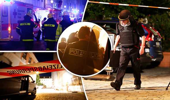 12 Injured As Syrian Asylum Seeker Blows Himself Up Outside Wine Bar (Video)