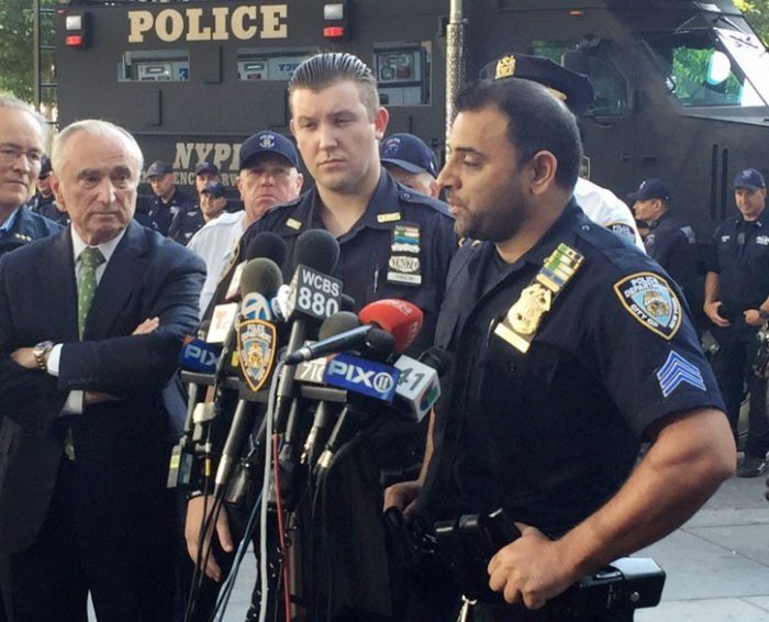 Heroic NYPD Duo Raced To Get Suspected Bomb Out Of Times Square: Police (Video)