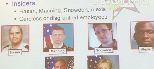 Army Confirms Names Of Insider Threats: Snowden, Petraeus, Manning And… SHOCKER! (Video)