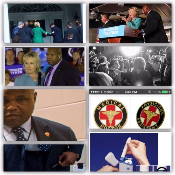 Is Hillary Constantly Accompanied By A Medic With An injection Of Diazepam At The Ready? (Video)