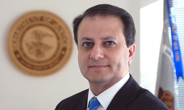 Preet Bharara - U.S. Attorney for the Southern District of New York 012910