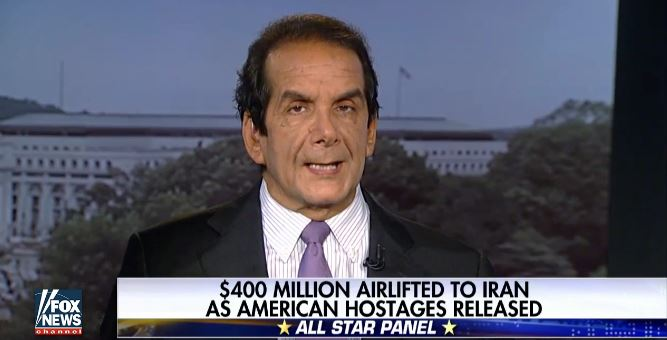 Krauthammer: 'Iran Payment Wasn't Just Ransom, It Was Money Laundering' (Video)
