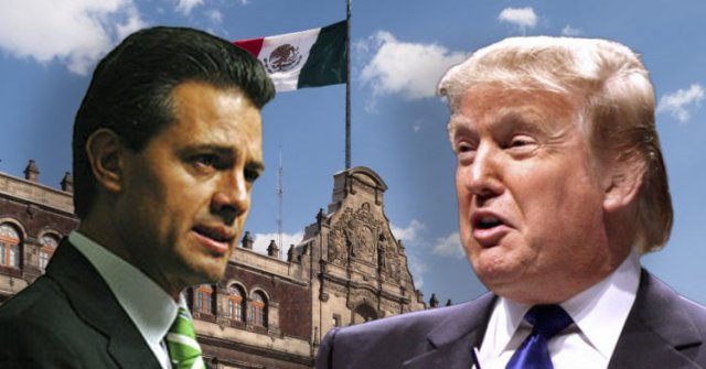Trump To Visit Mexico, Meet With Pena Nieto Ahead Of Immigration Speech (Video)