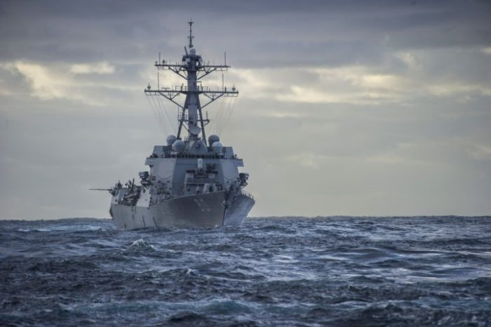 U.S. Navy Coastal Patrol Ship Fired Three Warning Shots (Video)