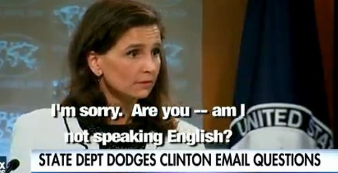 """Frustrated Reporter Questions State Dept On Emails: """"Am I Not Speaking English?"""" (Video)"""