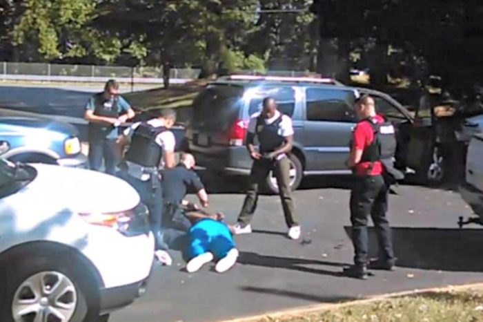 Cell Phone Video Of Keith Scott Shooting Released By Family (Video)