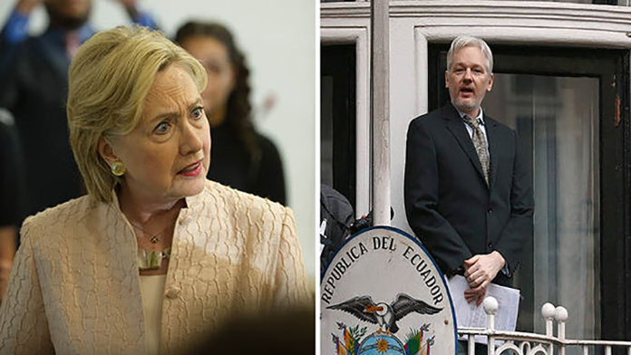 Assange: Up To 100,000 Pages Of Clinton Documents To Come (Video)