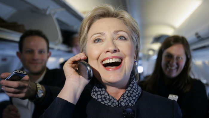 FBI: Hillary Clinton Lost Cell Phones With Classified Emails (Video)