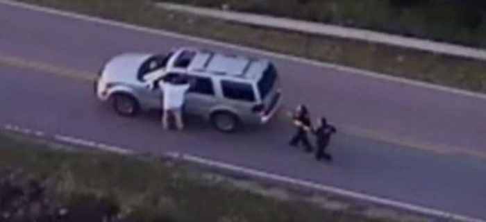 Helicopter Video Shows Oklahoma Police Shooting Of Unarmed Black Man