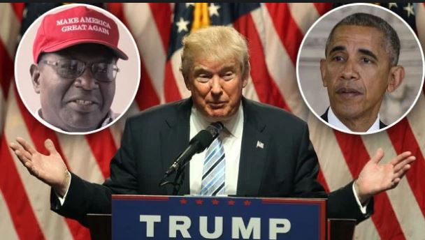 Obama's Half-Brother Attending Presidential Debate To Support Donald Trump