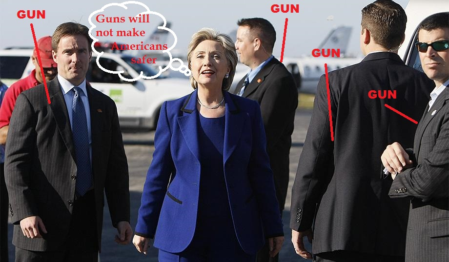 hillary-clinton-surrounded-by-armed-secret-service-agents