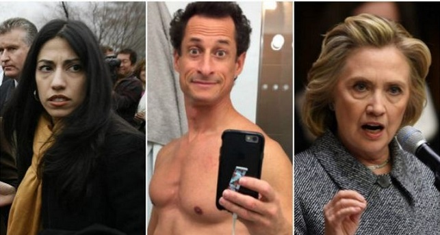 Email Reveals: Hillary Clinton Asked If Anthony Weiner Could Help Deliver Secure Cell Phone