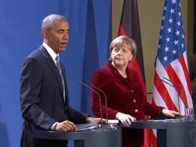 Merkel With Obama: Internet 'Disruptive' Force That Has To Be 'Contained, Managed, And Steered' By Government (Video)