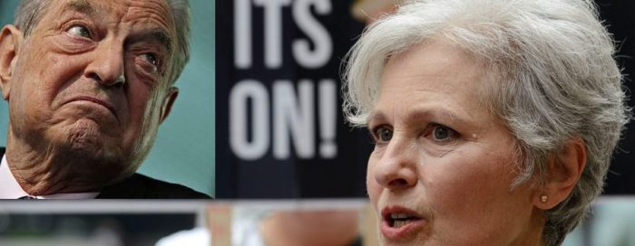 Jill Stein's Recount Is Funded By George Soros (Video)