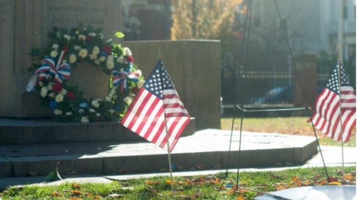 American Flags Removed And Torn Up By Brown Univ. Students Before Veterans Day (Video)