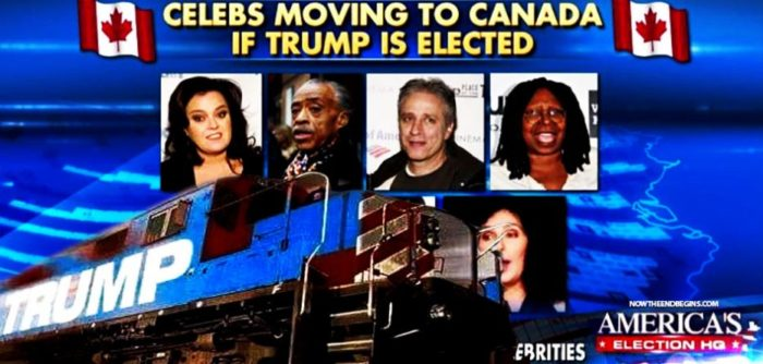 Bad News For Fleeing Liberals- Canada Doesn't Want You!