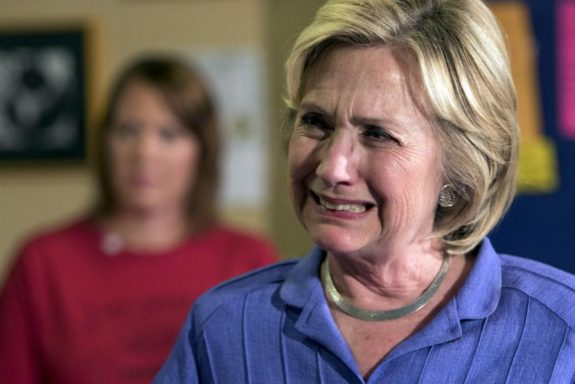 REPORT: Hillary Clinton Couldn't Stop Crying, Blamed Comey And Obama For Her Stunning Loss (VIDEO)