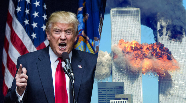 This Viral Video Of Trump On 9/11 Is Setting Twitter On Fire (Video)