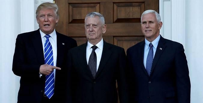 Trump Has Chosen Retired Marine Gen. James 'MAD DOG 'Mattis For Secretary Of Defense