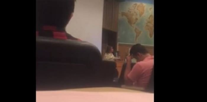 Caught On Video: Trump's Election Was 'Act Of Terrorism,' Says College Instructor To Students