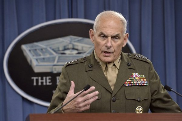 Trumps Taps Retired Marine General John Kelly For DHS