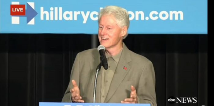 Bill Clinton Bashes Trump, Blames 'Angry White Men' And Comey For Wife's Loss (Video)