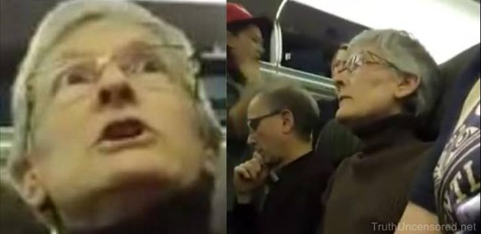 VIDEO: Passengers Cheer As Woman Berating Trump Supporter Is Kicked Off Plane (Video)