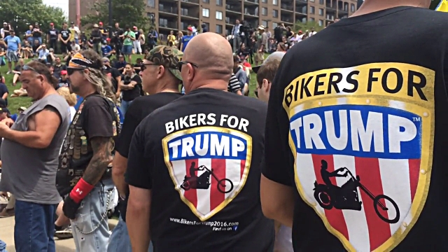 'Bikers For Trump' To Form 'Wall Of Meat' If Inauguration Protests Get Out Of Hand (Video)