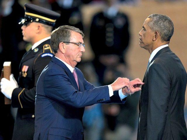 President Obama Awards Himself Distinguished Public Service Medal