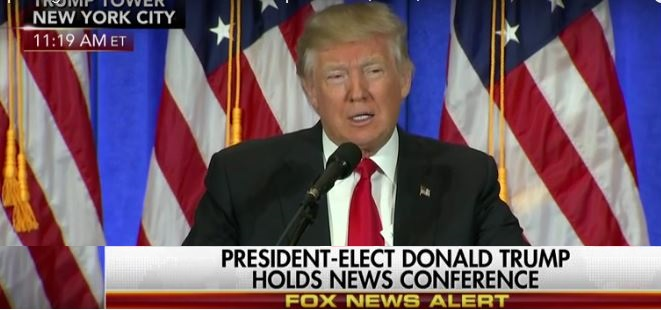 Trump News Conference Highlights: New Report On Russia Ties Is 'FAKE NEWS!' (Video)