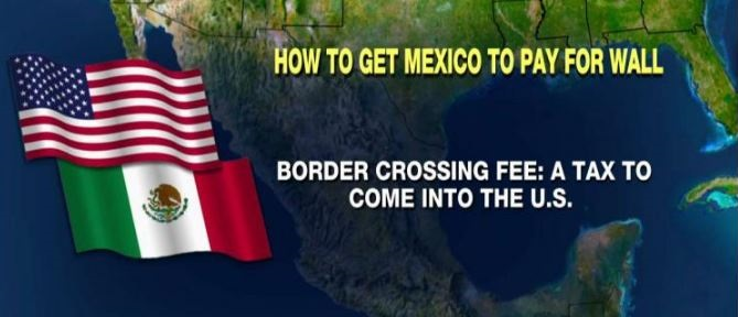 Here's How Trump Could Make Mexico Pay For The Border Wall (Video)