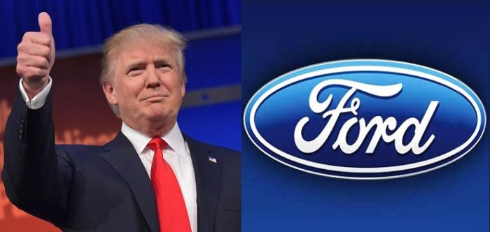 Ford, Criticized By Trump, Cancels Plans To Build Mexican Plant (Video)
