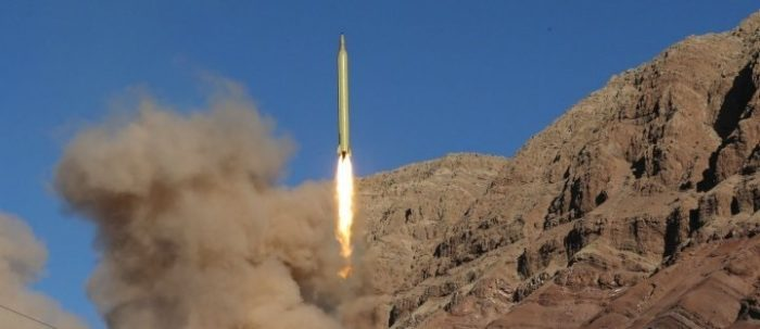 Iran Launched Another Ballistic Missile In Secret Last Month (Video)