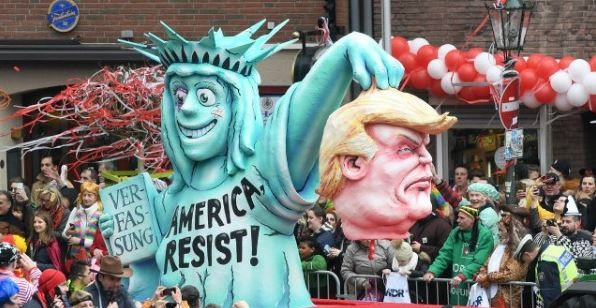 PHOTO GALLERY: German Carnival Floats Depict Decapitated Trump, Hitler Comparisons (Video)