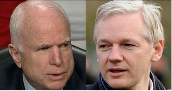 BREAKING: WikiLeaks EXPOSES John McCain In MASSIVE RUSSIAN SCANDAL