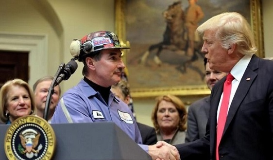 Coal Miner Who Spoke Alongside Trump: I'm Excited, He Kept His Promise (Video)
