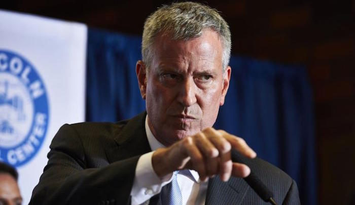 NY Mayor de Blasio To Block ICE Officers From Entering City Schools