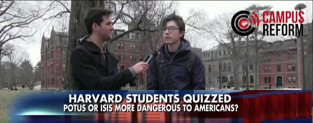 WATCH: Harvard Students Insist President Trump Is More Dangerous Than ISIS
